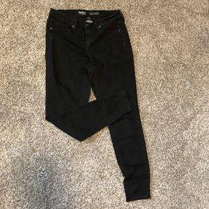 30R Mossimo black high rise jegging